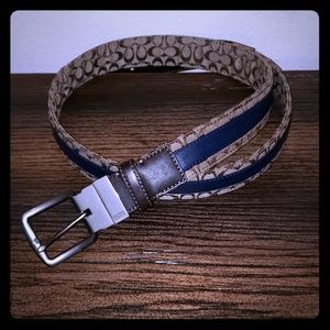 Coach Reversible Belt